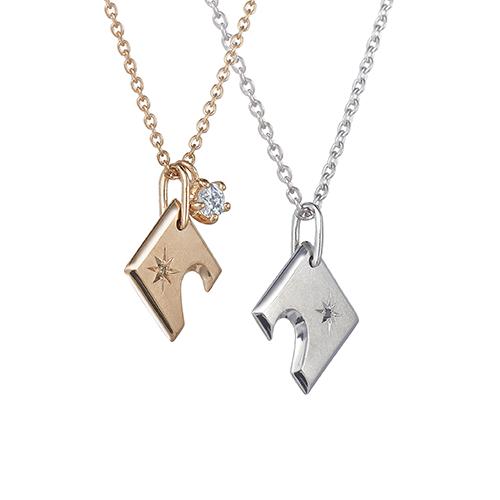 K24 / K18YG / ダイヤモンド ロンドンブルートパーズ チャーム