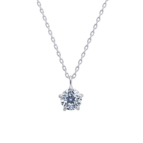 K18YG / ダイヤモンド ペンダント